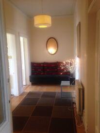 Big, bright furnished flat. Westend.