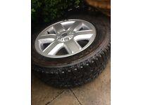 Range Rover vogue 2005 spare alloy wheel