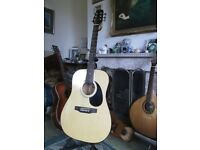 Tanglewood jumbo electro/acoustic guitar, cost £399. g condition, great tone!
