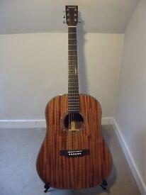 Tanglewood TW40 SDD Sloped Shoulder Dreadnought Acoustic Guitar.