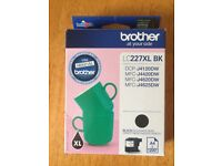 2 X Brother Cartridges - Lc227xl Black