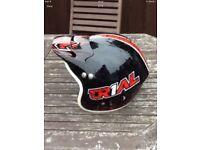 Trials bike / motorcycle helmet