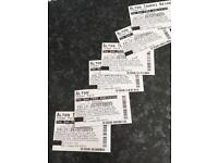 6 Alton Towers Tickets 24th July