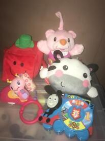 Baby toys bundle - Thomas, Fisher Price, Mr Men, V Tech and Bright Stars
