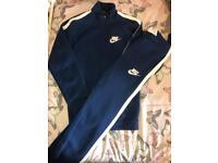 Navy Blue Nike Tracksuit