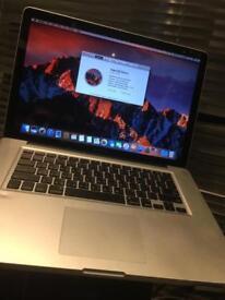"15"" MacBook Pro I7 for sale or exchange."