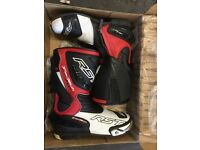 Rst tractech boots size 9