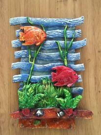 Handmade Marine Mural Wall Art - Brand New
