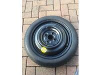 Spare Bridgestone wheel & tyre