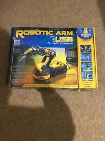 USB robotic arm kit