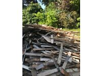 Free Firewood or good quality Redwood floorboards