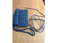BT Vanguard telephone dark grey