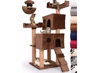 Cat play centre- size 119cm high-77cm wide. Weight 16KG. Brand new,never used.