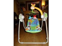 Mothercare Battery Operated Swing