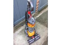Dyson Dc24 All-floors Lightweight Rollerball Upright Vacuum Cleaner