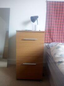 Storage cabinet & lamp
