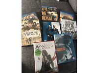 DVDs most brand new