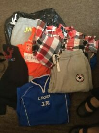 Boys clothes 3 black bags