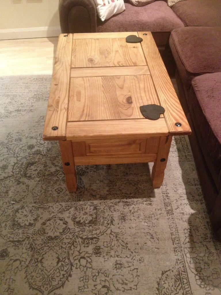 Mexican Pine Coffee Table Solid Mexican Pine Coffee Table In Torquay Devon Gumtree