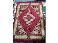 Rug large red rug