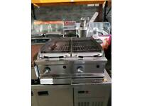 Double charcoal grill gas - Catering Equipment