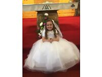 Gorgeous carriage and castles Communion Dress plus extras - REDUCED FURTHER