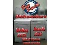 Dishwashers Beko Bosch White