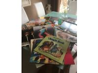 Vinyl 83 singles and 49 Albums job lot for sale