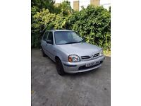 Nissan micra 1.3 automatic.£475.00
