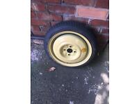 Space saver spare wheel, Mazda/Ford 4 stud