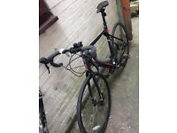 GT Grade black and red bike GT6061
