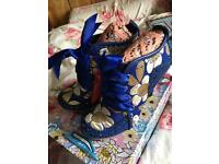 Blue irregular choice Abigail's party size 41