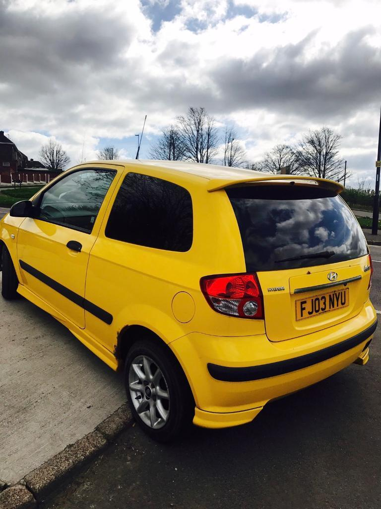 2004 hyundai getz 1 1l gsi with sept 2017 mot service history in sheffield south yorkshire. Black Bedroom Furniture Sets. Home Design Ideas