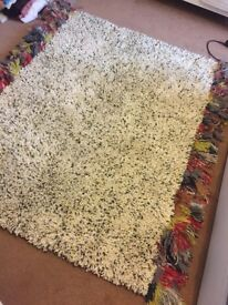 Habitat wool rug 135cm x 145cm