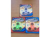 Fidget spinners in boxes of 24 @ £2.00 each spinner £48