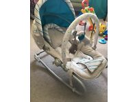 BabiesRUs Musical Activity Rocker - barely used