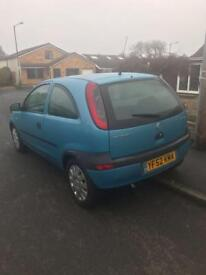 Vauxhall Corsa 1.0 , 11 months MOT, drives very nice