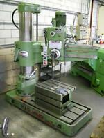 KAO MING KMR-1100S HYDRAULIC RADIAL DRILL PRESS