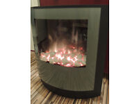 Modern Fire place with remote (Delivery)