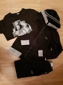 Hugo boss boys tracksuit & t shirt