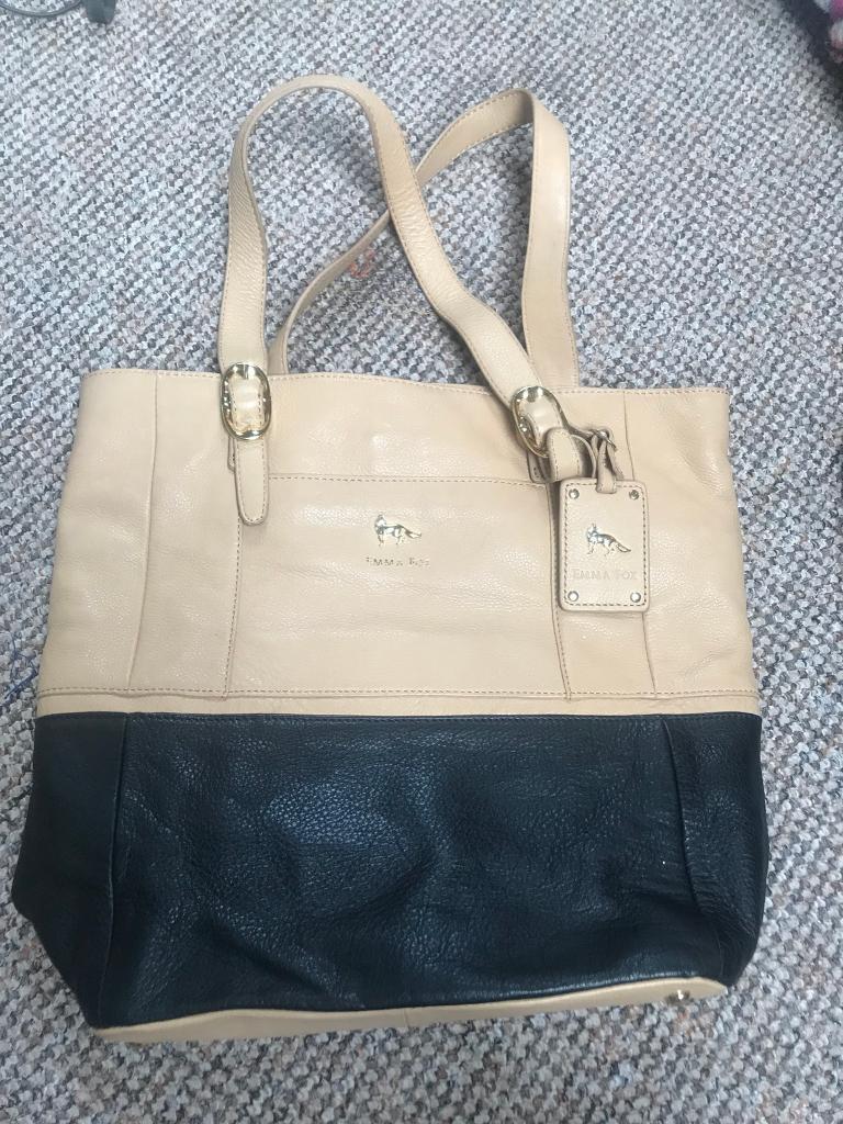 REDUCED Emma fox New York real leather large handbag