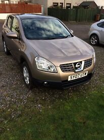 Nissan Qashqai Acenta, LOW MILES, FULL SERVICE HISTORY, panoramic roof, cruise control...