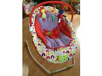 Mamas and Papas Bouncy chair with music and vibration