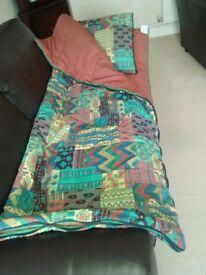 Single Sleeping and Pillow