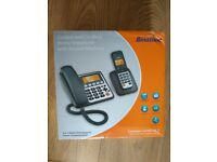 Binatone Concept Combo 3525 Twin Corded & DECT Combo Phone-brand New