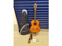 Yamaha C70 acoustic guitar plus extras