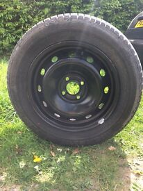 Spare wheel with new Michelin tyre