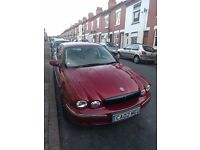 Jaguar X Type - 2.1 V6 - Red - MOT Feb 17