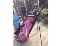 Golf Clubs & Bag (plus extras)