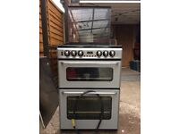 New Home Cooker with double oven and grill and 4 gas hobs